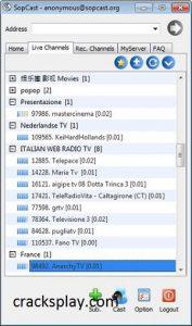SopCast 4.2.0 Crack Free Download Full Version 2021