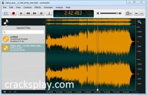 Ocenaudio 3.10.3 Crack Free Download Full Version 2021